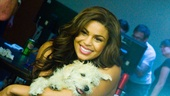 Jordin Sparks Behind the Scenes - Dog