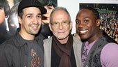 In the Heights Last Show in Los Angeles  Lin-Manuel Miranda  Ron Rifkin  Rogelio Douglas Jr.