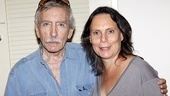 The great Edward Albee poses with his director, Emily Mann.