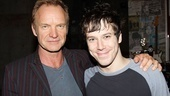 American Idiot leading man John Gallagher Jr. is thrilled to welcome rock legend Sting to the show.