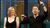 Next to Normal Times Talks Event – Marin Mazzie – Jason Danieley (pointing)