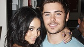 Zac Efron and Vanessa Hudgens at Memphis  Vanessa Hudgens  Zac Efron