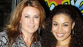 The first person waiting backstage to welcome official Broadway star Jordin Sparks? Her proud mama, Jodi, of course.