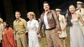 South Pacific closing  cast