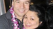 South Pacific closing  Danny Burstein - Loretta Ables Sayre