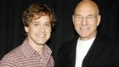 A Life in the Theatre meet and greet  T.R. Knight  Patrick Stewart