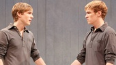 Zachary Booth as OTTO and Preston Sadleir as otto in Me, Myself & I.