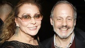Elizabeth Ashley and her Broadway producer pal Jeffrey Richards are all smiles.