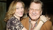 Broadway vet Kate Jennings Grant hugs Brian Murray, who played her dad in a regional production of Finians Rainbow.