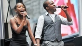Bway on Bway 2010 - Selloane Nkhela and Dashaun Young