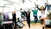 Photo Op: Bloody Bloody Andrew Jackson in Rehearsal – Kate Cullen Roberts – Jeff Hiller – Maria Elena Ramirez – Greg Hildreth – Nadia Quinn – Darren Goldstein
