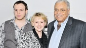 James Earl Jones Times Talks Event – Flynn Earl Jones – Cecilia Hart Jones – James Earl Jones
