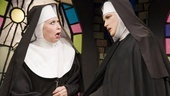 Julie Halston as Sister Acacius and Charles Busch as Mother Superior in The Divine Sister.