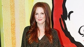 Julianne Moore at Freckleface Strawberry  Julianne Moore (full length)