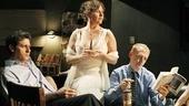Gary Wilmes as Tom, Laurena Allan as Myrtle and Scott Shepherd as Nick in Gatz.