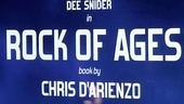 Dee Snider Rock of Ages opening night  poster