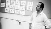 Free Man of Color Rehearsal – Jeffrey Wright (standing with illos)