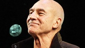 Patrick Stewart soaks in the applause for his latest starring role on Broadway.