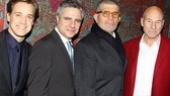A Life in the Theatre Opening Night – T.R. Knight – Neil Pepe – David Mamet – Patrick Stewart