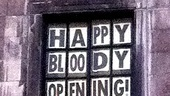 Bloody Bloody Andrew Jackson opening night – David Hyde Pierce window