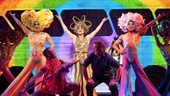 Show Photos - Priscilla Queen of the Desert - Will Swenson - Tony Sheldon - Nick Adams - cast 