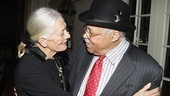 Driving Miss Daisy Opening Night – Vanessa Redgrave – James Earl Jones (embracing)