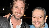 Gerard Butler at Memphis  Gerard Butler  Joe DiPietro