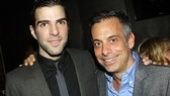 Angels in America Opening Night – Zachary Quinto – Joe Mantello