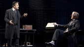 Al Pacino as Shylock and Byron Jennings  as Antonio in The Merchant of Venice.