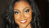 No habit here! Patina Miller put her glam-est face forward to promote Sister Act on Broadway, where she will reprise her star turn as showgirl-turned-convent-resident Doloris Van Cartier.