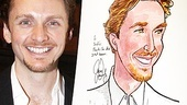 Jason Danieley Sardi's Caricature – Jason Danieley (smiling)
