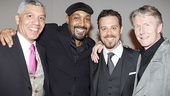 Merchant of Venice Opening night  Peter Francis James  Jesse L. Martin  Matthew Rauch  Byron Jennings