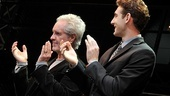 Bob Gaudio times two: The real composer stands onstage with the young actor who portrays him, Ryan Jesse.