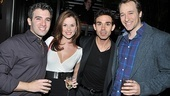 Jersey Boys Fifth Anniversary  Jarrod Spector  Katie OToole  Dominic Scaglione Jr.  John Hickman