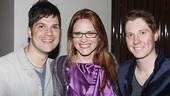 Musical director Stephen Oremus, Jennifer Laura Thompson and Justin Bohon are fans of Buddy the Elf.