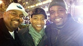 Memphis at Macys Thanksgiving Day Parade  James Monroe Iglehart  Derrick Baskin  J. Bernard Calloway