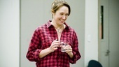 The always-in-demand Elizabeth Marvel arrives for rehearsal of Other Desert Cities, in which she stars as a writer whose memoir sends shock waves through her characters family.