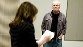 Other Desert Cities Rehearsal  Stockard Channing  Stacy Keach