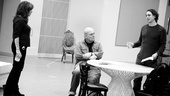 Other Desert Cities Rehearsal  Stockard Channing  Stacy Keach  Thomas Sadoski