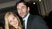 Look who we spotted on the way in to the gala: theater vet Jennifer Westfeldt (who worked on a new screenplay at New York Stage and Film this past summer) and her longtime love, Mad Men star Jon Hamm.