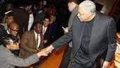 James Earl Jones 80th Birthday – James Earl Jones (shaking hands)