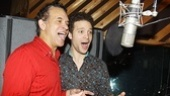 "Brian Stokes Mitchell and Justin Guarini share one of the show's standout duets, the appropriately titled ""Microphone."""