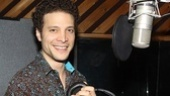 American Idol vet-turned-Broadway actor Justin Guarini knows his way around the studio.