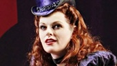 Kate Shindle as Mad Hatter in Wonderland.