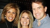Kathie Lee Gifford at Million Dollar Quartet  Hoda Kotb - Kathie Lee Gifford  James Moye