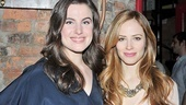 The New York Idea beauties Mikaela Feely-Lehmann and Jaime Ray Newman smile for our camera.