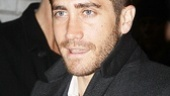 The play may be about three sisters, but Jake Gyllenhaal is on hand to show his sis Maggie some brotherly love.