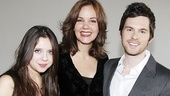 Bel Powley, Margaret Colin and Tom Riley are all smiles as they ready to bring Arcadia back to Broadway.