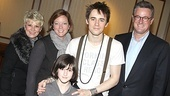 Spiderman Efron  Joe Scarborough- family  Reeve Carney