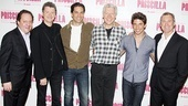 Priscilla rehearsal – James L. Nederlander – Simon Phillips – Will Swenson – Tony Sheldon – Nick Adams – Garry McQuinn